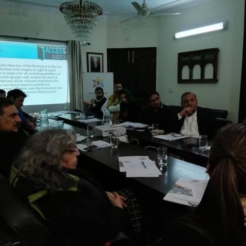 Shirakat at a consultation organised by PJN