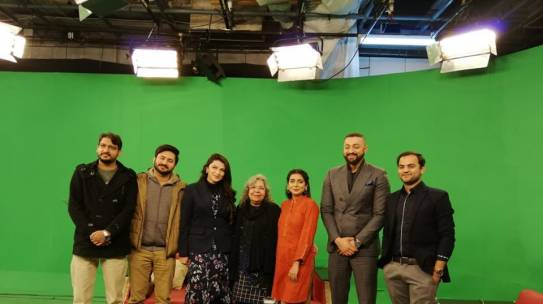 Shirakat at PTV World morning show on C190 – Violence and Harassment in the World of Work