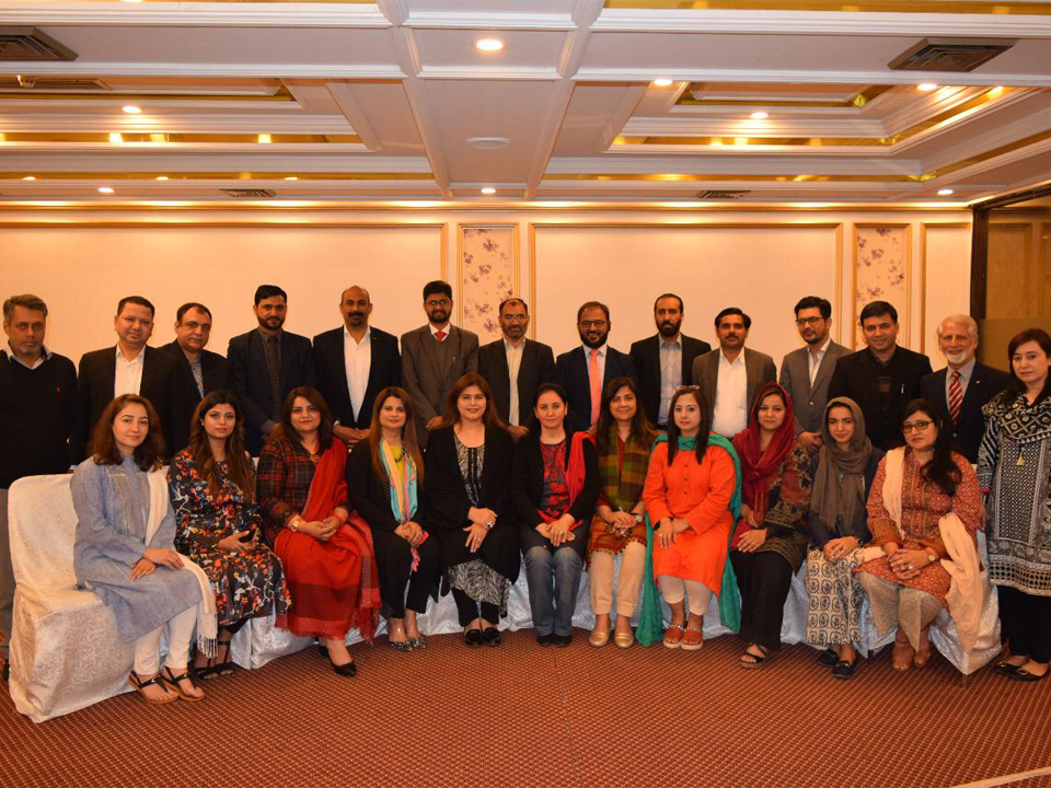 Shirakat at a Inception workshop organized by Pakistan Alliance for Early childhood (PAFEC)