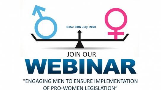ENGAGING MEN TO ENSURE IMPLEMENTATION OF PRO-WOMEN LEGISLATION